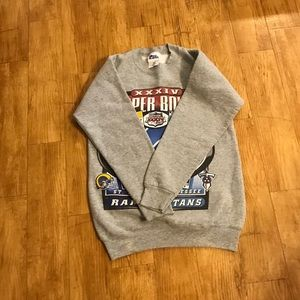 Pro Player Shirts & Tops - Super-Bowl Sweater 2000 vintage